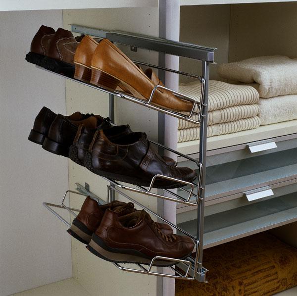 schuhhalter f r ihren schrank. Black Bedroom Furniture Sets. Home Design Ideas